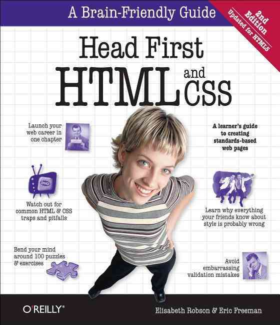 Head First Html By Robson, Elisabeth/ Freeman, Eric